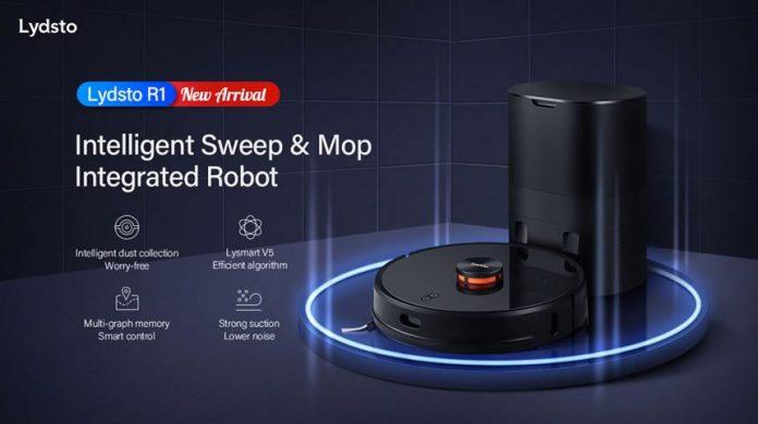 Lydsto Kendi Tozunu Kendisi Temizleyen Robot Süpürge